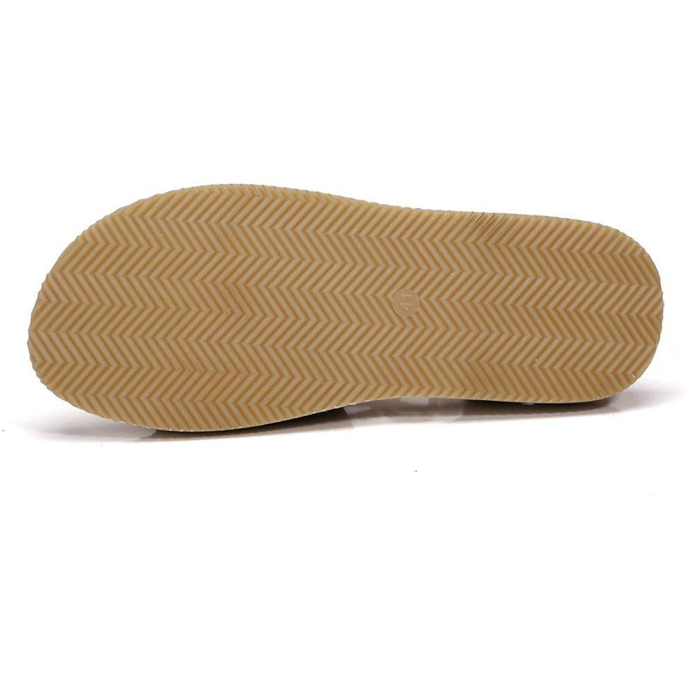 Ethnic Style Sandale handgemachten Mann Strand Schuhe Sommer absorbieren Slipper Baumwolle Canvas Sandale absorbieren Sommer Schweiß atmen frei braun (Farbe : #1, größe : 39) #3 594ba3