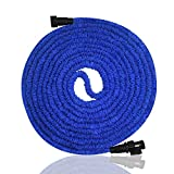 75 ft heavy duty hose - Garden Hose, Expandable Garden Hose, 75ft Expanding Garden Hose Lightweight Durable Heavy Duty Flexible Pressure Washer Water Hose for Car Wash Cleaning Watering Lawn Garden Plants