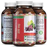 Natural Resveratrol & Grape Seed Extract Supplement For Women And Men – Potent & Pure Anti Aging Antioxidant – Skin Care + Boosts Immune System + Weight Loss Supplements – By California Products Review