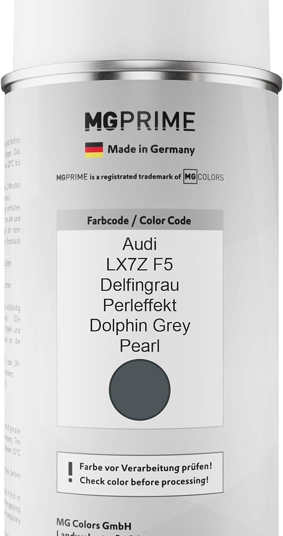 Mg Prime Autolack Sprühdosen Set Für Audi Lx7z F5 Delfingrau Perleffekt Dolphin Grey Pearl Basislack Klarlack Spraydose 400ml Auto