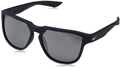 c1d1aa0987ffd Nike- Mens Fly Swift Sunglasses Matte Obsidian/Silver w/Gray Silver Flash