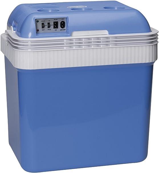 SUMEX 2818012 Nevera Portátil Eléctrica Frio/Calor para Coche, Camping, Barco y Casa 12V/230V 24 L