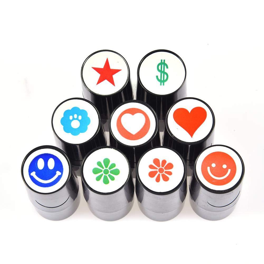 yestter Pedazos Sello Personalizado de Golf Impresión Marcador de Bola de Golf de Color Perdurable para Golfistas