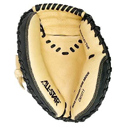 All-Star Cm1011 Youth Comp 31.5 Inch Catchers Mitt 2 Piece Black Tan Right d6e442fdeeae