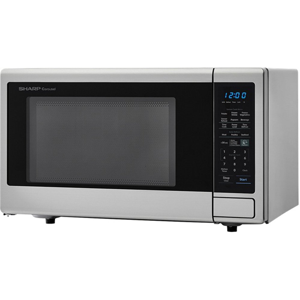 ALMO DISTRIBUTING WISCONSIN SMC1842CS Sharp 1.8 Cu.ft. Turntable Sensor Cook Microwave by ALMO DISTRIBUTING WISCONSIN (Image #1)