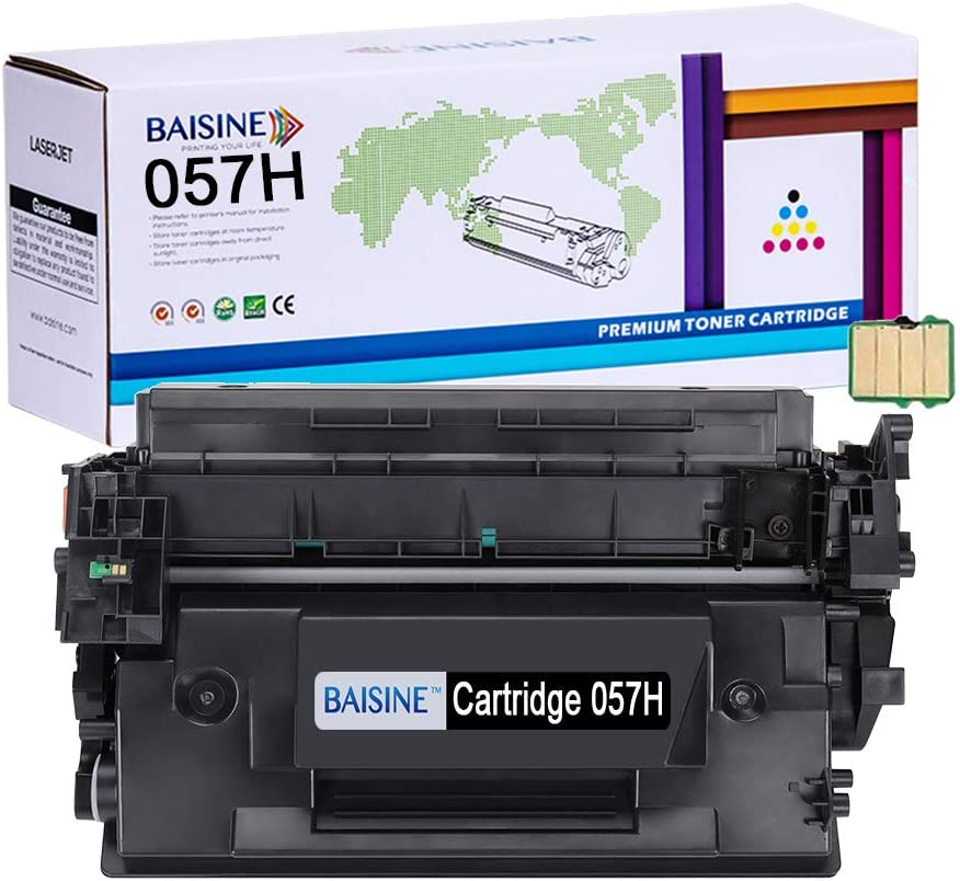 MF448s Black, 3-Pack LBP227s Awesometoner Compatible No Chip Toner Cartridge Replacement for Canon/057H use with imageClass LBP226 MF445