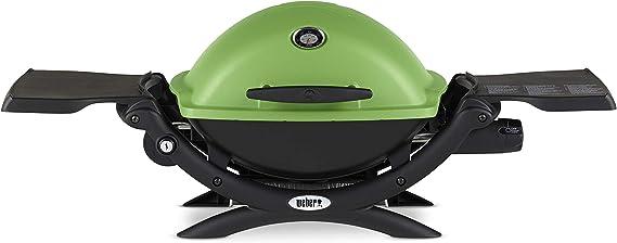 Weber Q-1200 Green LP Gas Grill