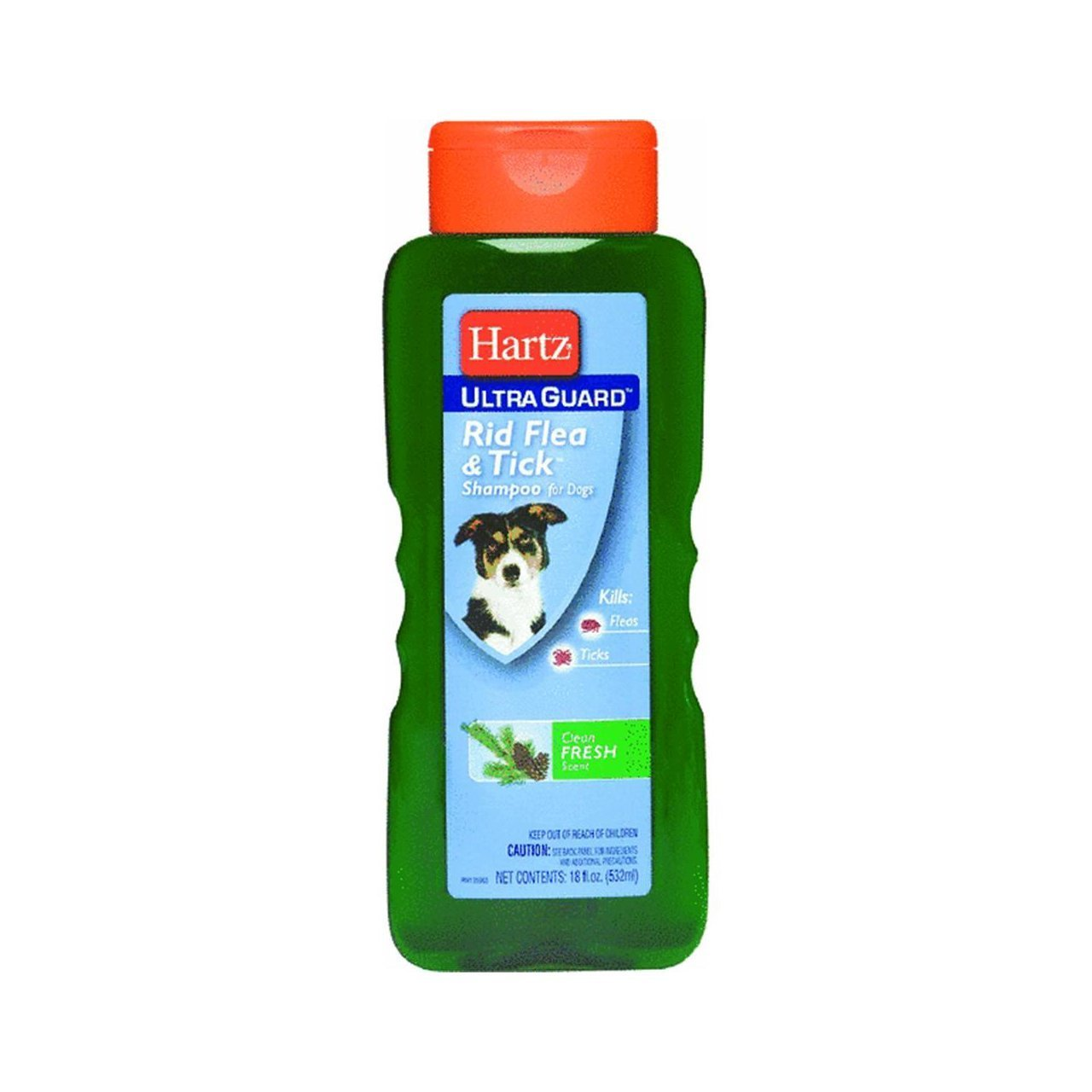 Hartz Ultra Guard Shampoo 18 Oz Clean Fresh Scent
