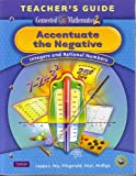 Accentuate the Negative; Integers and Rational Numbers Teacher's Guide (Connected Mathematics 2)