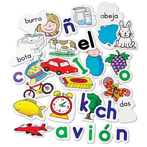 AmazonCom Learning Resources Spanish Alphabet Pocket Chart Office