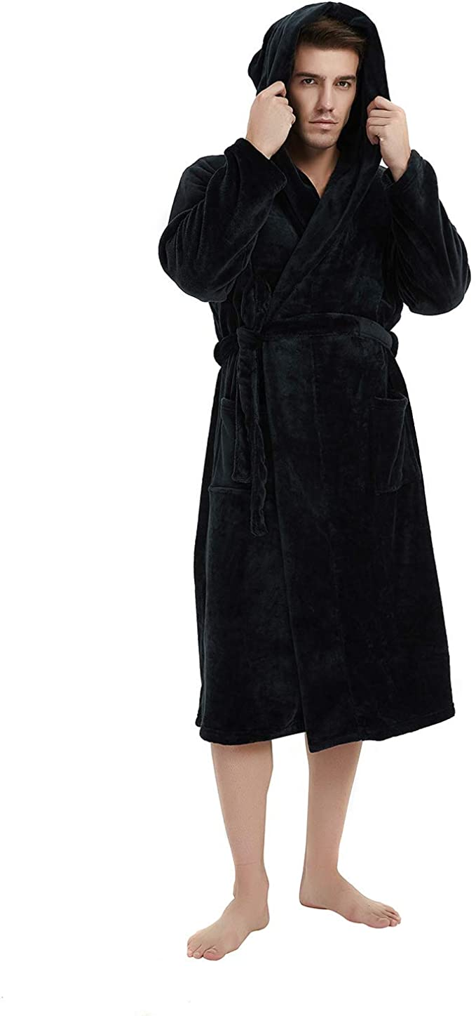 FLEECE ROBE PULL ON