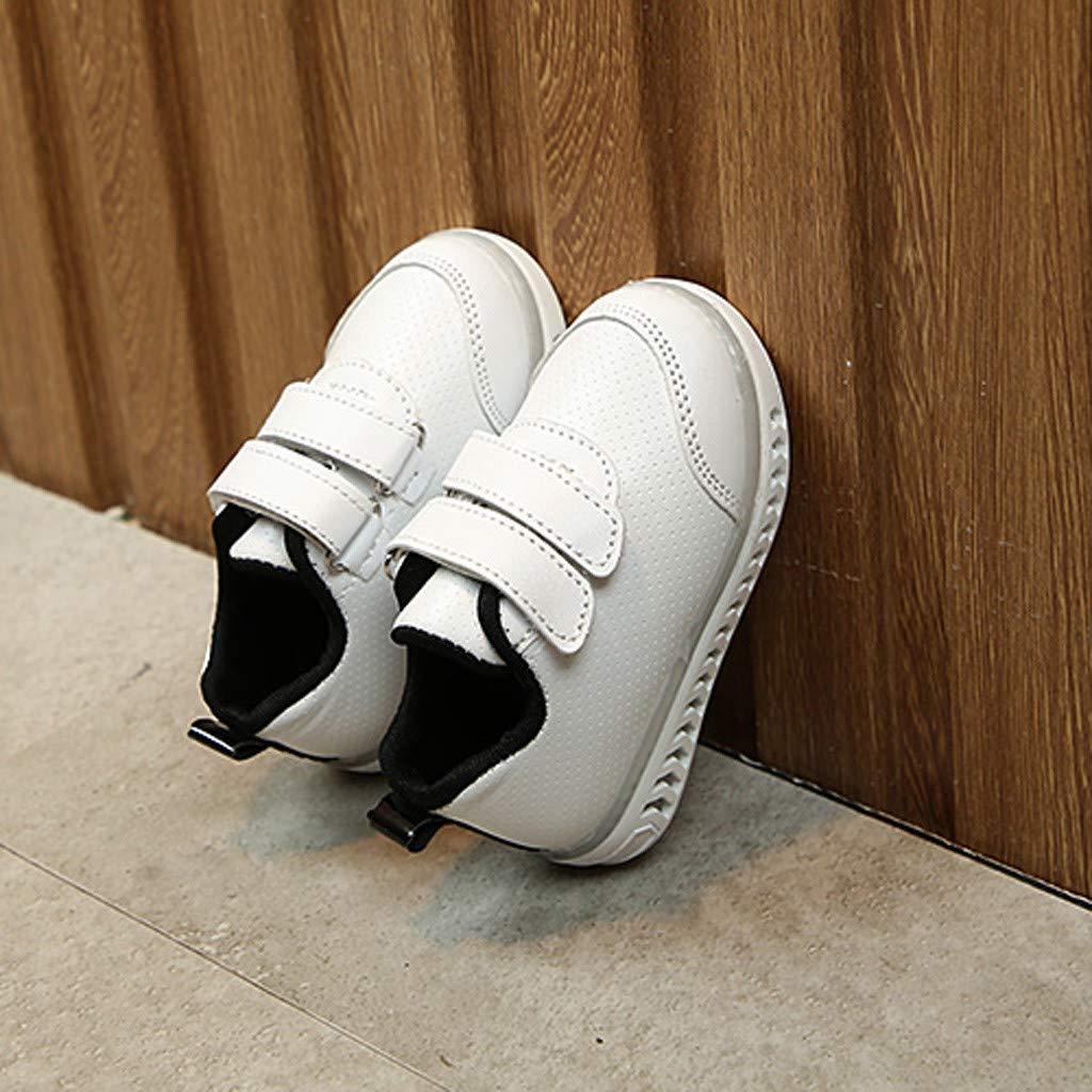 Baby Shoes goodjinHH Children Baby Girls Boys Crystal Led Light Luminous Running Sport Sneaker Shoes