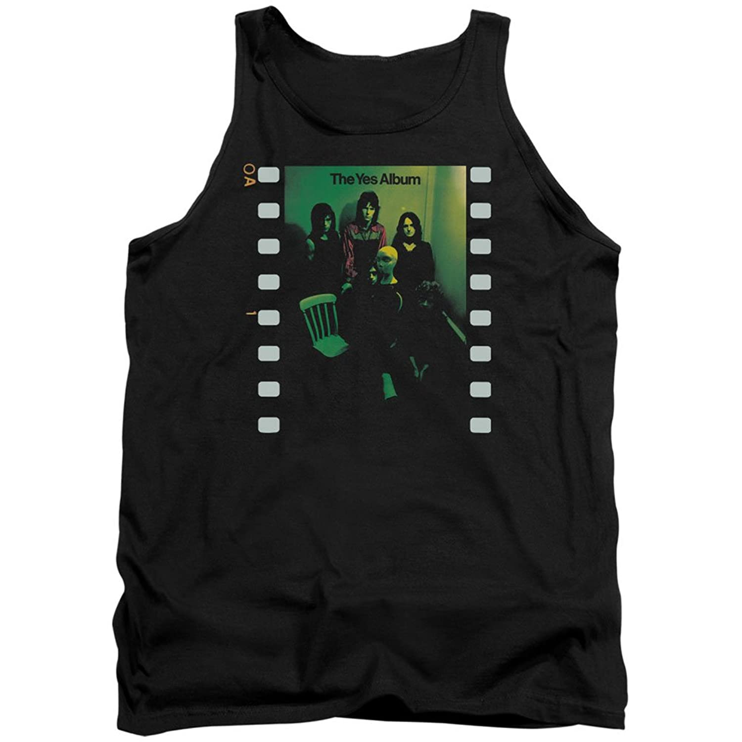 Yes Rock Band Music Group The Yes Album Adult Tank Top Shirt