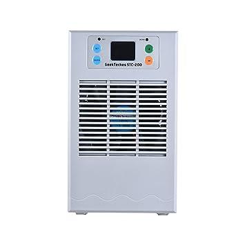 Decdeal - Profesional 70W 20L Termostato de Acuario para Calefacción Enfriamiento Controlador de Temperatura del Agua Semiconductor con 3W Bomba de Agua ...