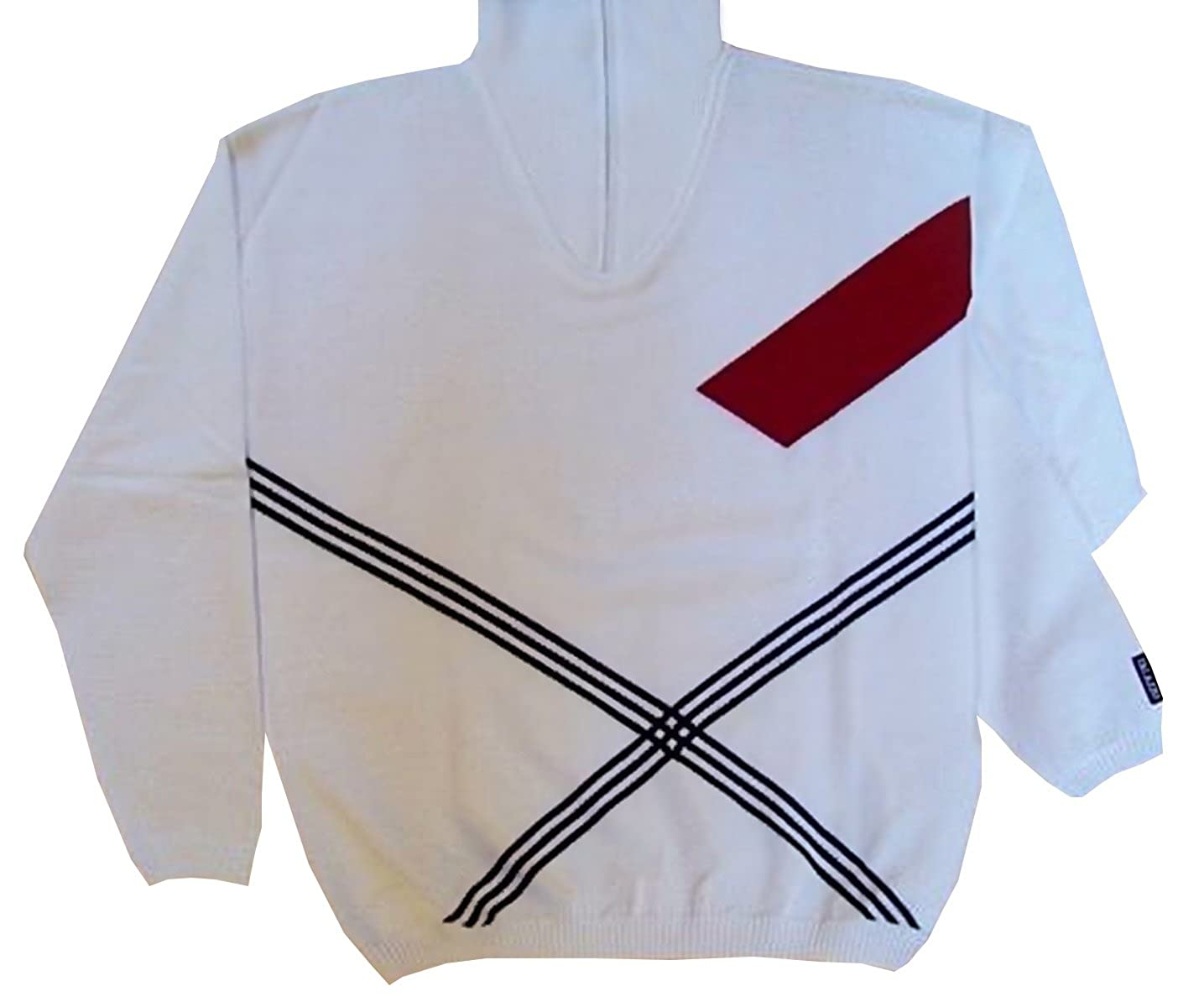 PALAZZO UOMO Hochwertiger Pullover mit Zipper 30627 M & 3XL