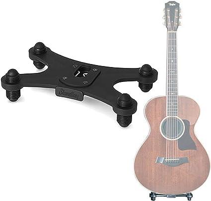 standley guitarras de soporte de Click On Guitar Foot trípode para ...