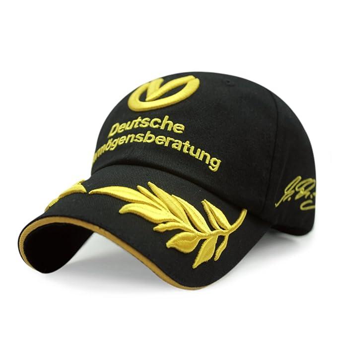 Versión sombrero de Corea/El trigo de otoño bordado gorras hip hop/Gorra de béisbol de algodón/ sombra de sol casual deportes gorras-B ajustable: Amazon.es: ...