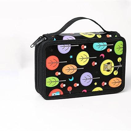 Amazon.com: Pen Bag Colorful Trousse Scolaire Stylo High ...