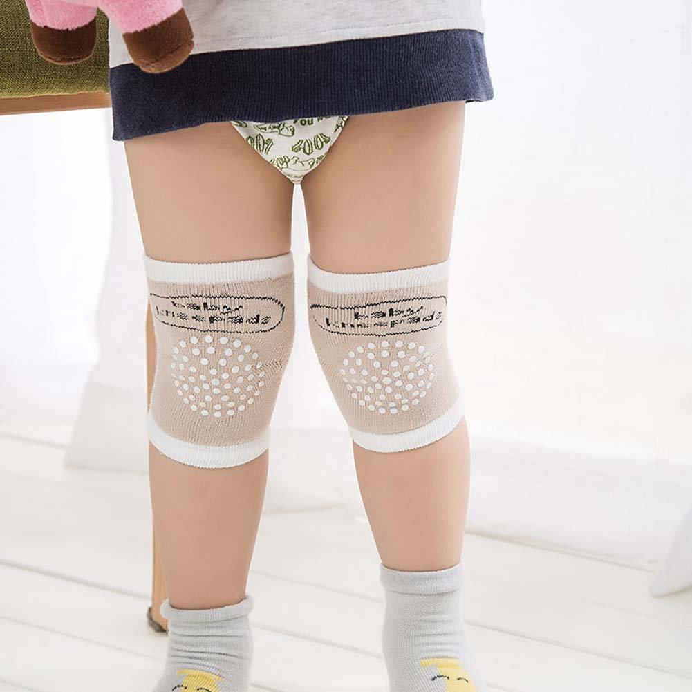 ESHOO Baby Crawling Anti-Slip Kneepad Unisex Baby Toddlers Leg Warmer Knee Pads