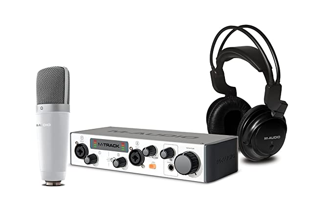 46 opinioni per M-Audio Vocal Studio Pro II Set di Registrazione Completo con Interfaccia Audio,