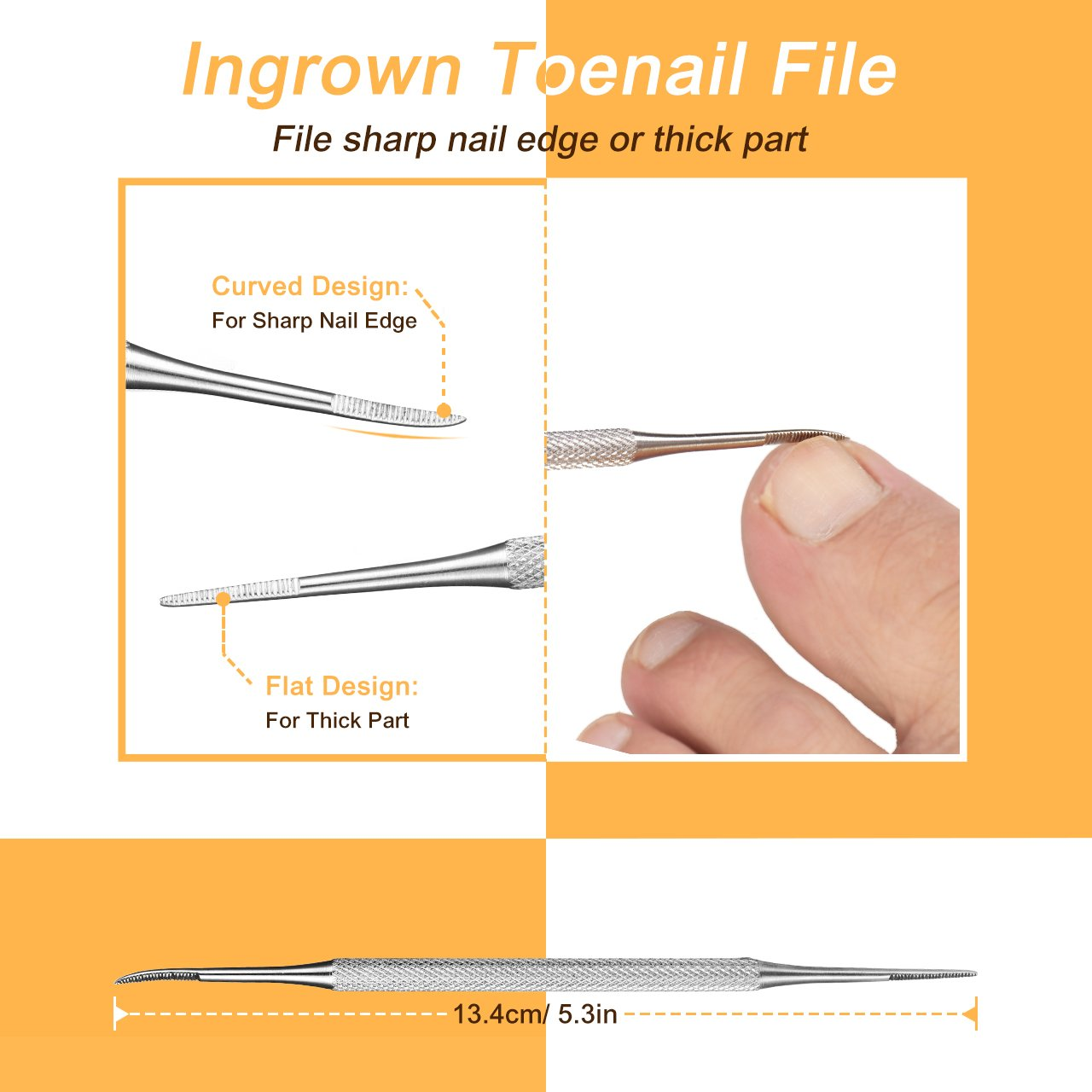 Ingrown toenail diagram gallery diagram design ideas topelek ingrown toenail clippers kit with nail lifter and file topelek ingrown toenail clippers kit with pooptronica Gallery