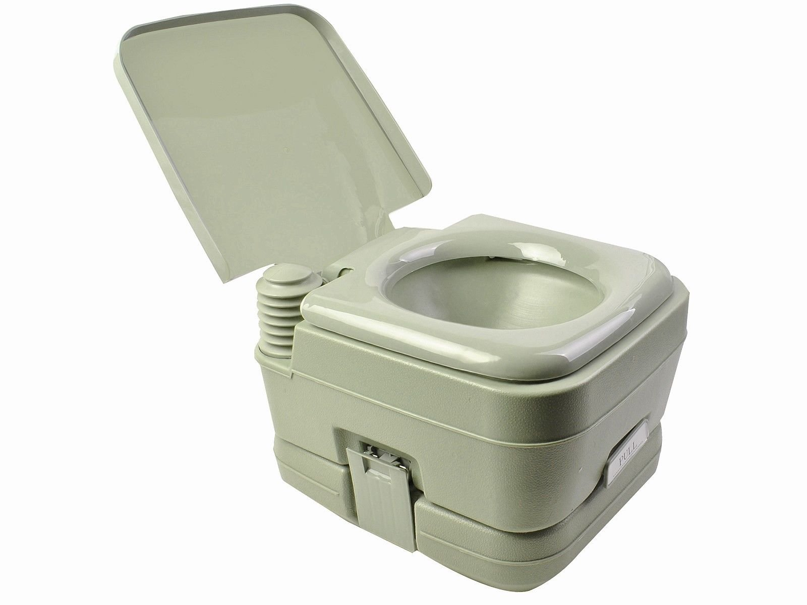 JDM Auto Lights 2.8 Gallon Portable Toilet Flush Travel Outdoor Camping Hiking Toilet Potty 10l by JDM Auto Lights (Image #1)