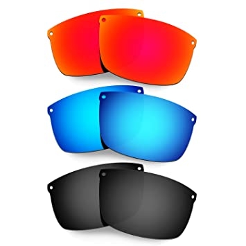 HKUCO Mens Replacement Lenses For Oakley Carbon Blade Red/Titanium Sunglasses Ds4wVB