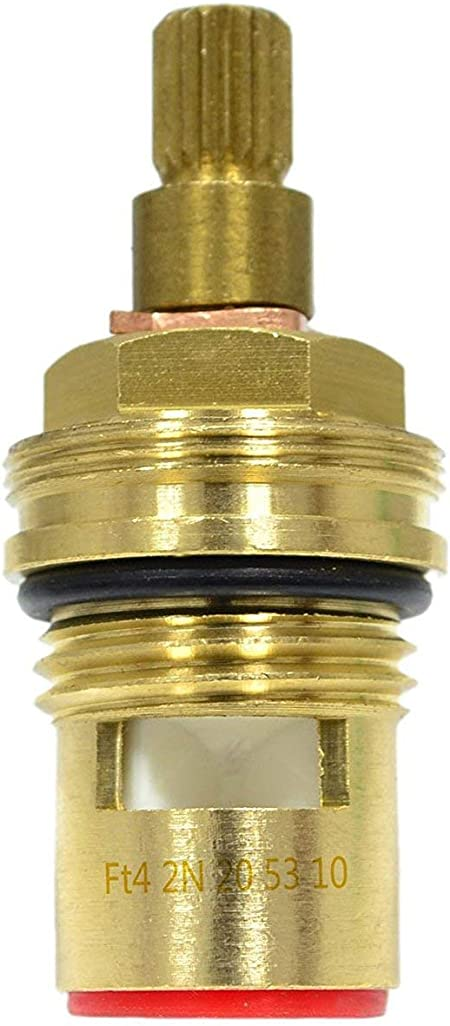 1//2 Universal Ceramic Cartridge Tap Replacement With Female Thread Left
