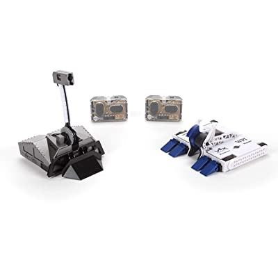 HEXBUG BattleBots Rivals 4.0 (Blacksmith and Biteforce) Toys for Kids, Fun Battle Bot Hex Bugs Black Smith and Bite Force: Toys & Games