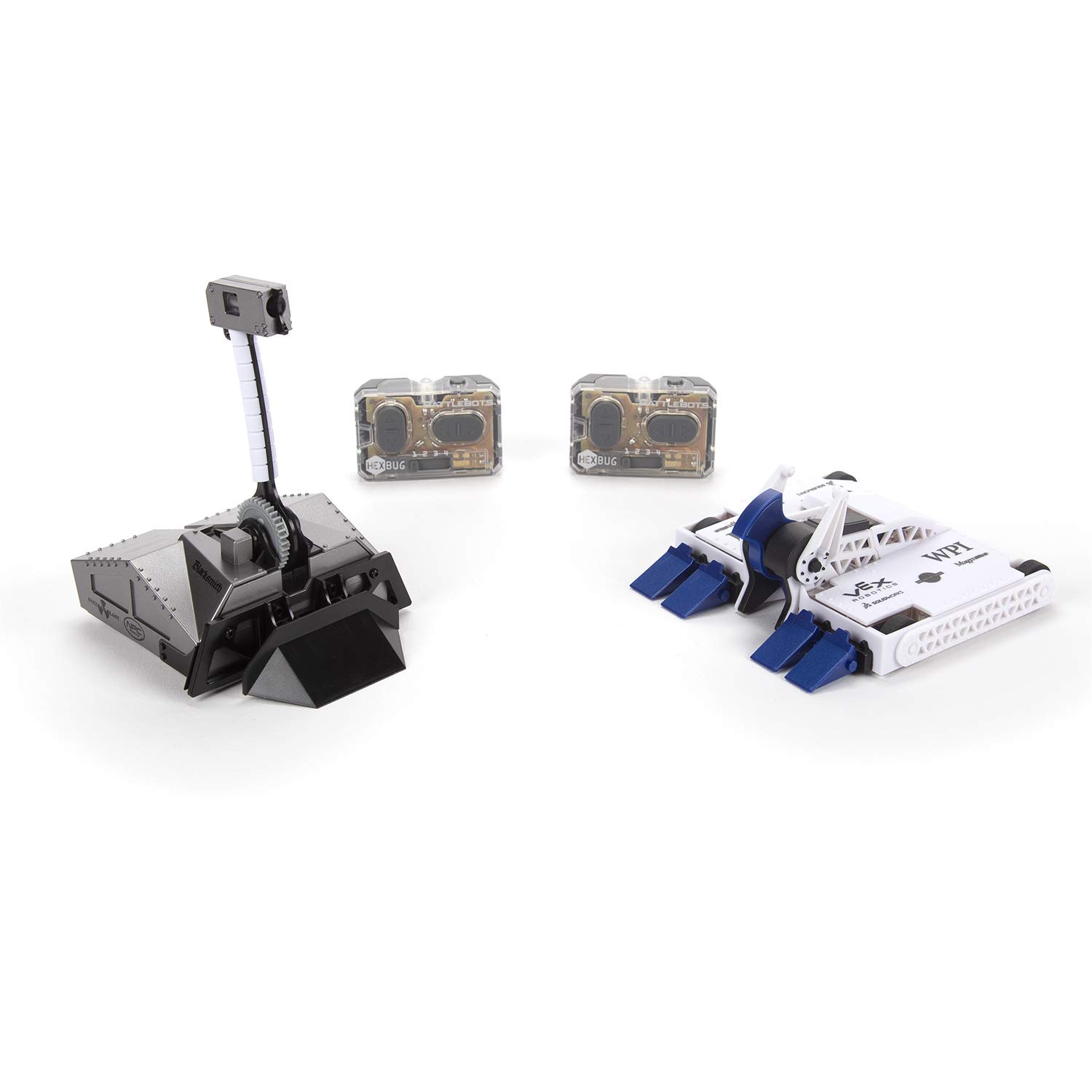 HEXBUG BattleBots Rivals 4.0 (Blacksmith and Biteforce) Toys for Kids, Fun Battle Bot Hex Bugs Black Smith and Bite Force by HEXBUG (Image #1)