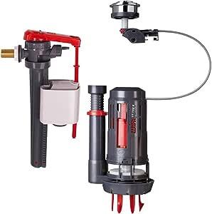 Mecanismo completo doble descarga con cable–Le mecanismo + el grifo flotador