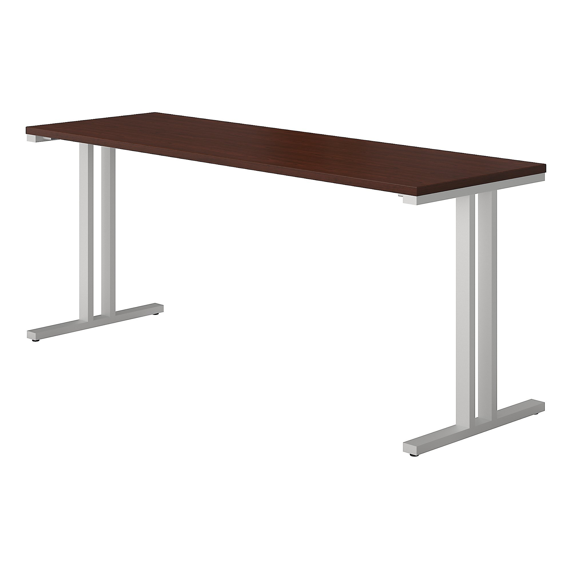 Bush Business Furniture 400 Series 72W x 24D Training Table in Harvest Cherry