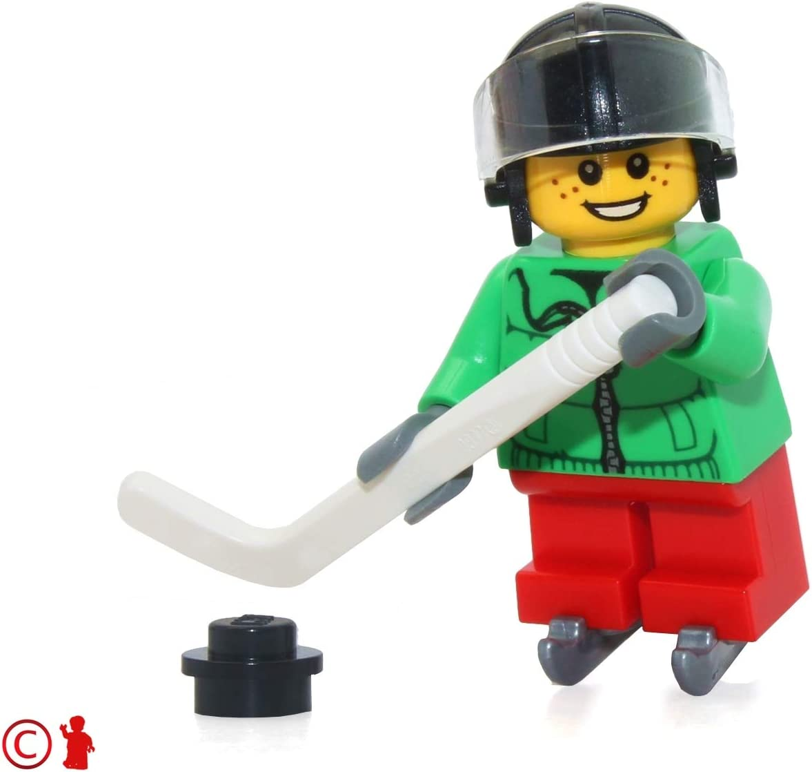LEGO Holiday Minifigure - Ice Hockey Player Boy (from Advent Calendar 60133)