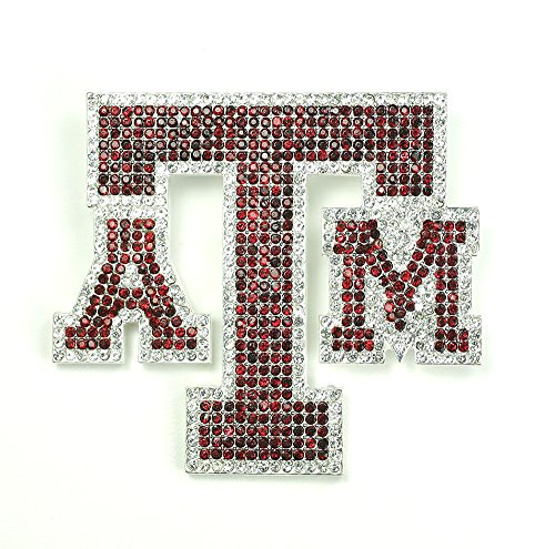 Texas A&M University Crystal Pin