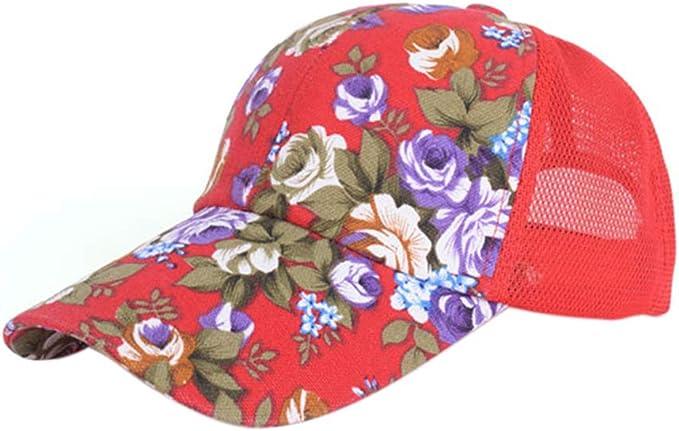 SunYueY - Gorra de béisbol con diseño de Flores, Unisex, para ...