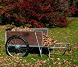 M26S Large Yard/Garden Cart with Semi-Pneumatic Wheels