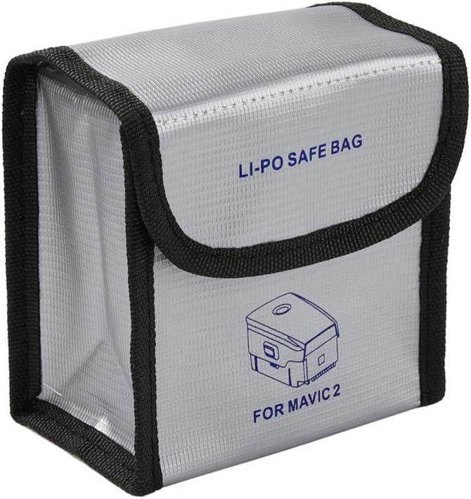 Feuerfest Explosionsgesch/ützt Lipo Batteriesafe Tasche Ladungsschutz Wachentasche f/ür Mavic 2 Pro//Zoom//Mavic Pro//Luft RC-Drohne AVIC 2-Mittlere Gr/ö/ße Owoda Mavic 2 Batterietasche