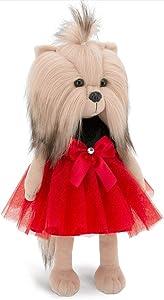 Wise Elk Lucky Yoyo: Fiesta Puppy Stuffed Animal, Dress Up Stuffed Puppy for Kids from 3 Year, Stuffed Animal Dog for Any Dog Lover, Unicorn Stuffed Toy York for Girls.