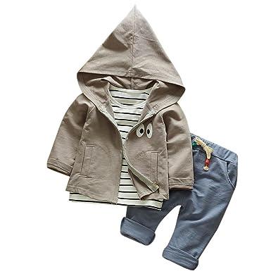 3 Pcs Kleinkind Kind Frühling Herbst Winter Outfits Dorame
