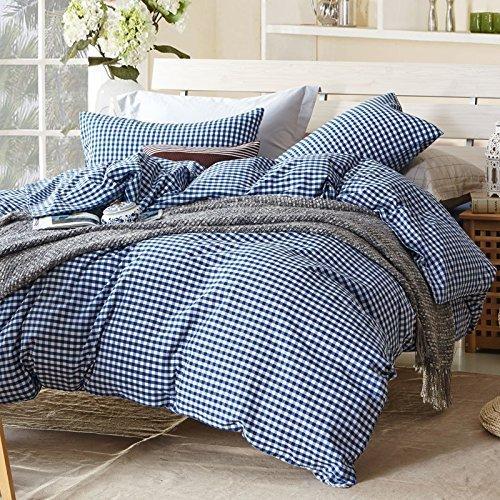 thefit paisley textile bedding for adult u628 blue white collection duvet cover set 100 washed. Black Bedroom Furniture Sets. Home Design Ideas