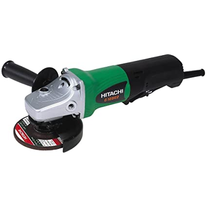 Hitachi G12SE2 4-1/2-Inch 9 5-Amp Angle Grinder, AC/DC (Discontinued by the  Manufacturer)