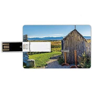 16GB Forma de tarjeta de crédito de unidades flash USB Anexo ...