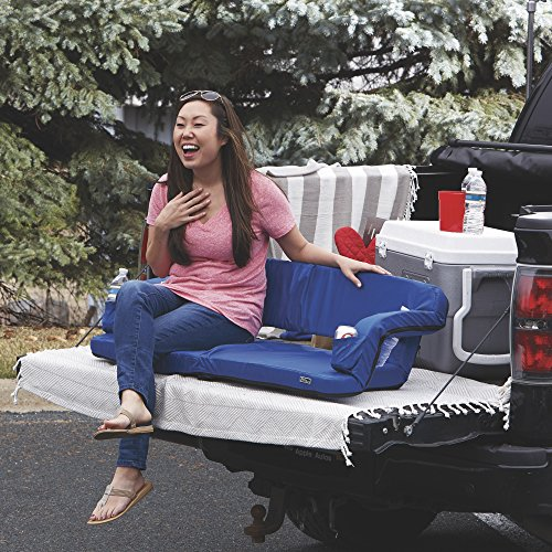Picnic Time Portable Reflex Travel Couch (Navy, Regular) (Travel Reflex Couch)
