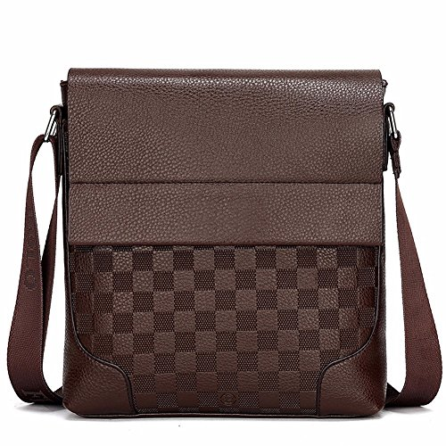 de Dark Surnoy bolso Business pulgadas Brown Satchel Pack Brown de hombro 's 8 Document vertical solo Dark Men Trend rzqrZ8