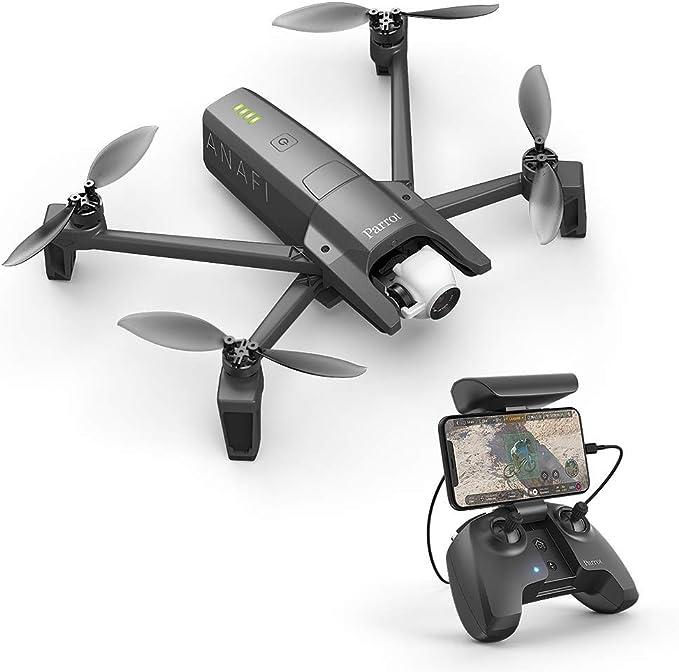 Parrot Anafi - Dron cuadricóptero (4K HDR, 21 Mpx, slow-motion y ...