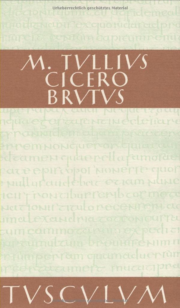 Brutus. (Sammlung Tusculum)