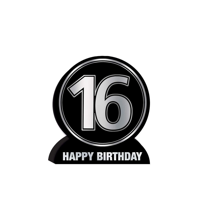 3-D 16th Birthday Centerpiece