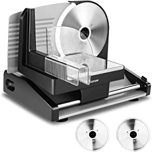 Nictemaw Meat Slicer, 200W Power Meat Slicers for Home Use, 7.5