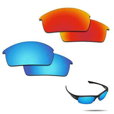 1afbe23282 Image Unavailable. Image not available for. Color  Fiskr Anti-saltwater Polarized  Replacement Lenses for Oakley Bottlecap 2 Pairs Pack