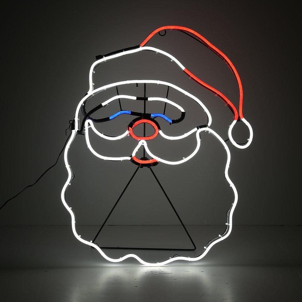 YKS/ /Babbo Natale Neon LED a parete 12/V 8/W luce decorazione di famiglia//caff/è//Festa Impermeabile